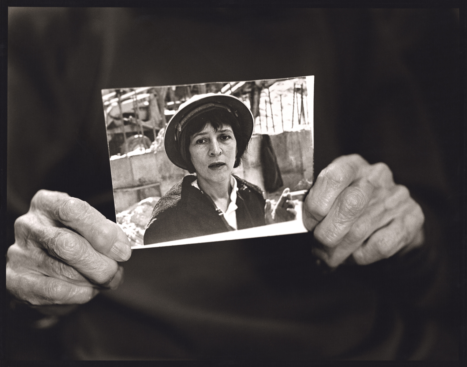 Penny Wolin. Helen Levitt, New York City, 2006. © Penny Wolin, All rights reserved.