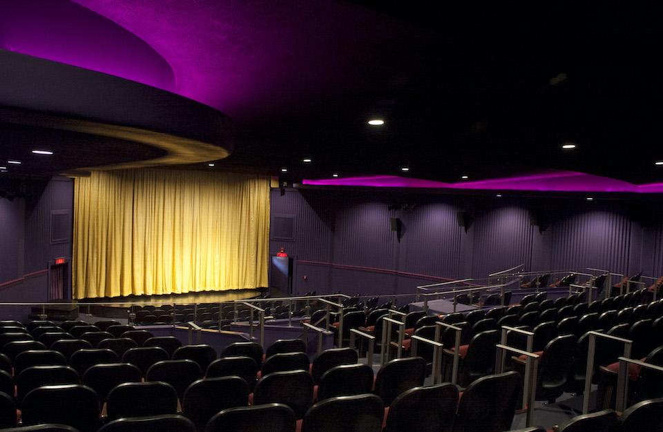 Dryden Theatre Empty