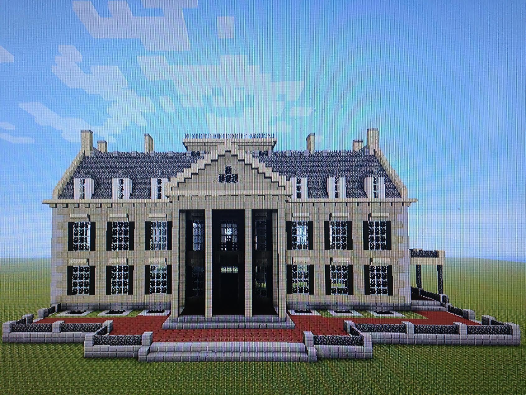 Building The George Eastman Museum In Minecraft George Eastman Museum