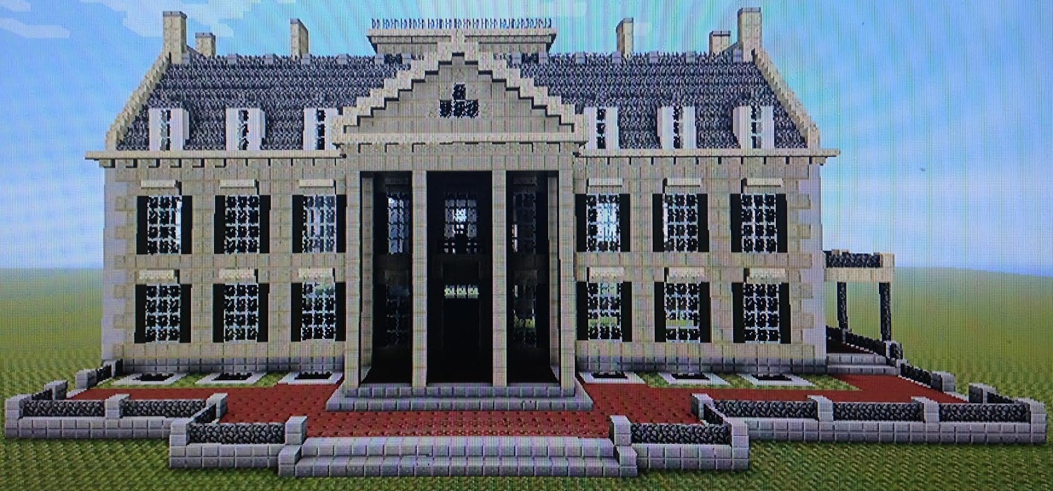Building The George Eastman Museum In Minecraft