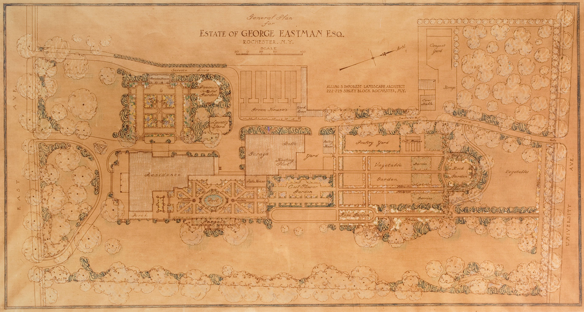 Collection Highlights Historic Landscape George Eastman