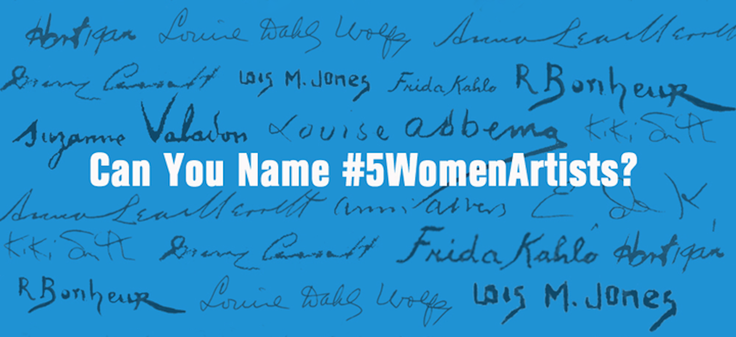 Banner image for 5WomenArtists