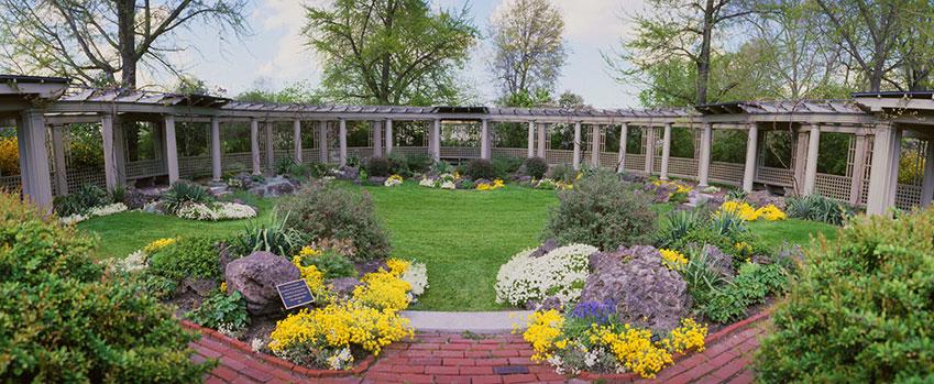 Mansion Gardens George Eastman Museum