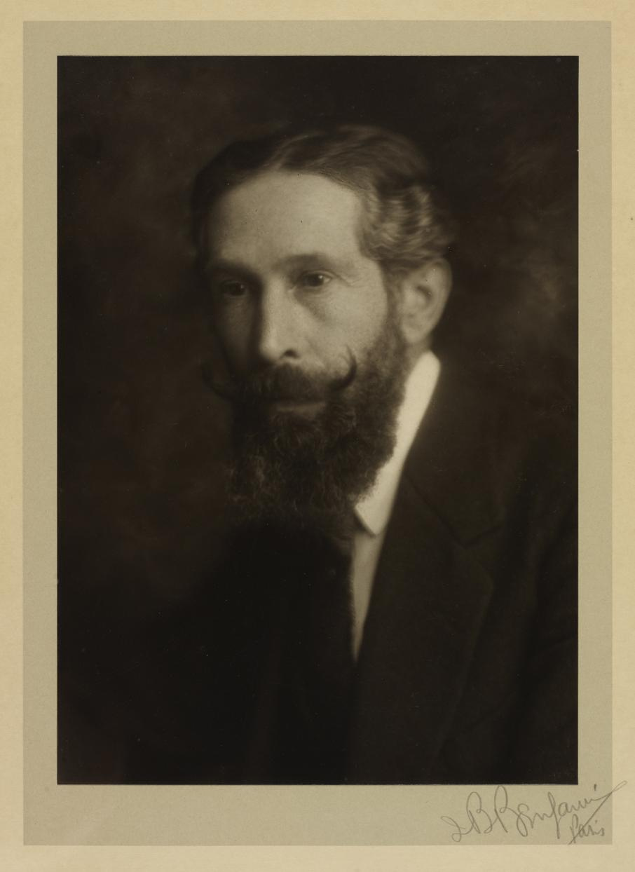 Photograph of Gabriel Cromer by J. Benson Benjamin