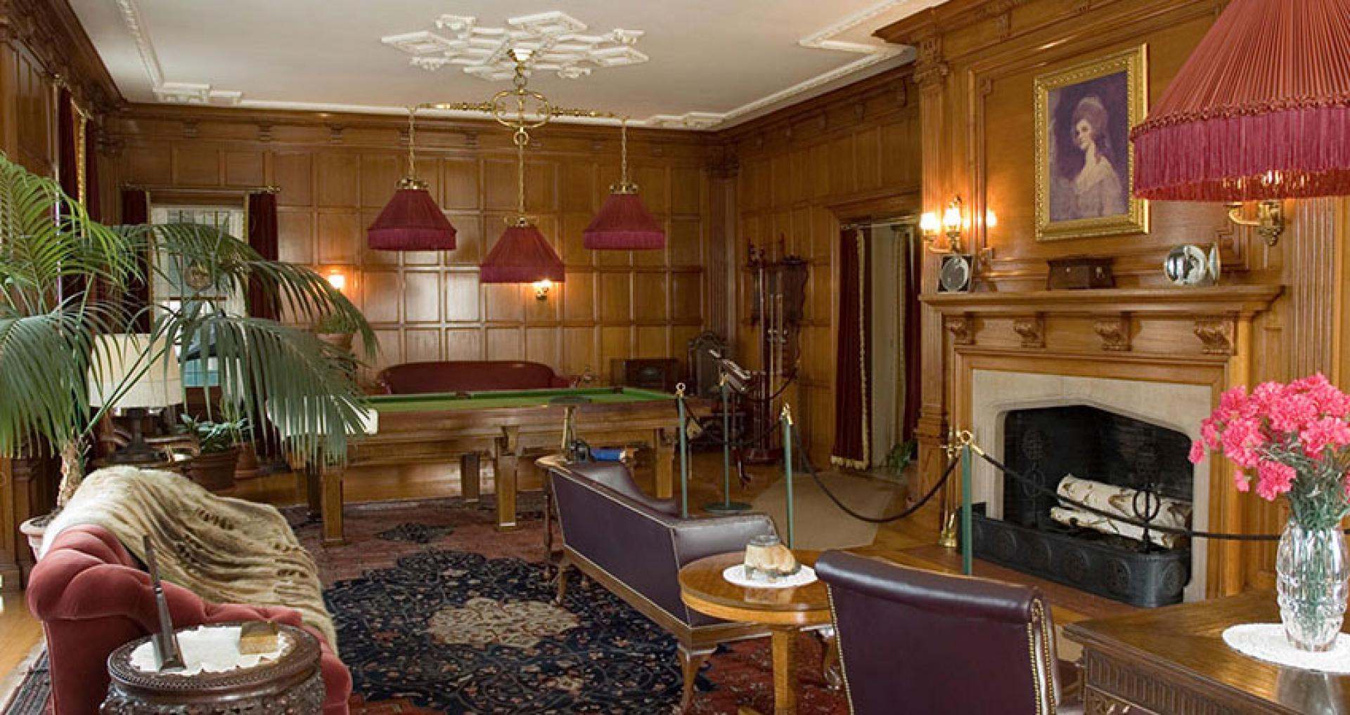 Eastman's billiard room