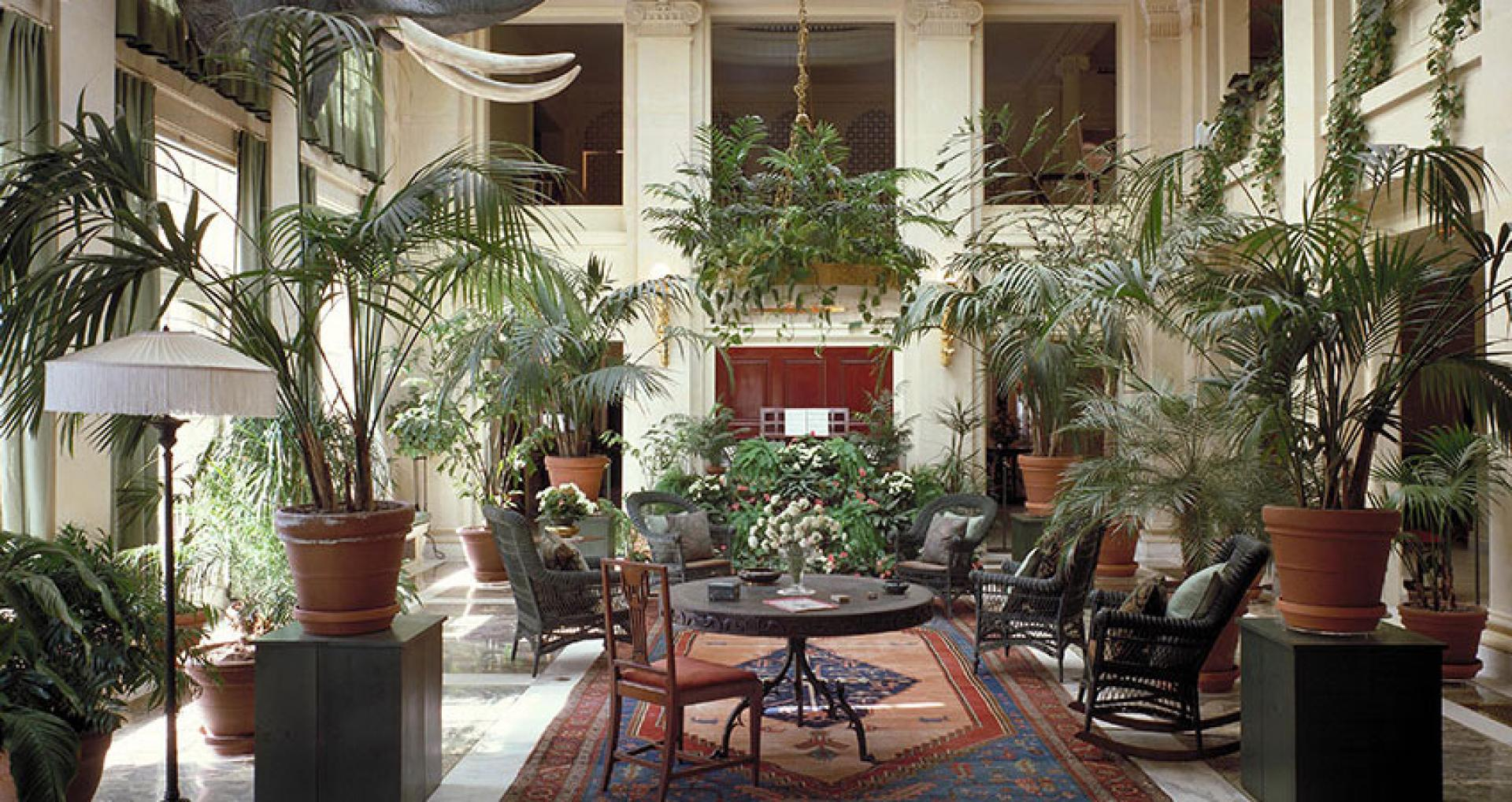 View of the Eastman Museum conservatory