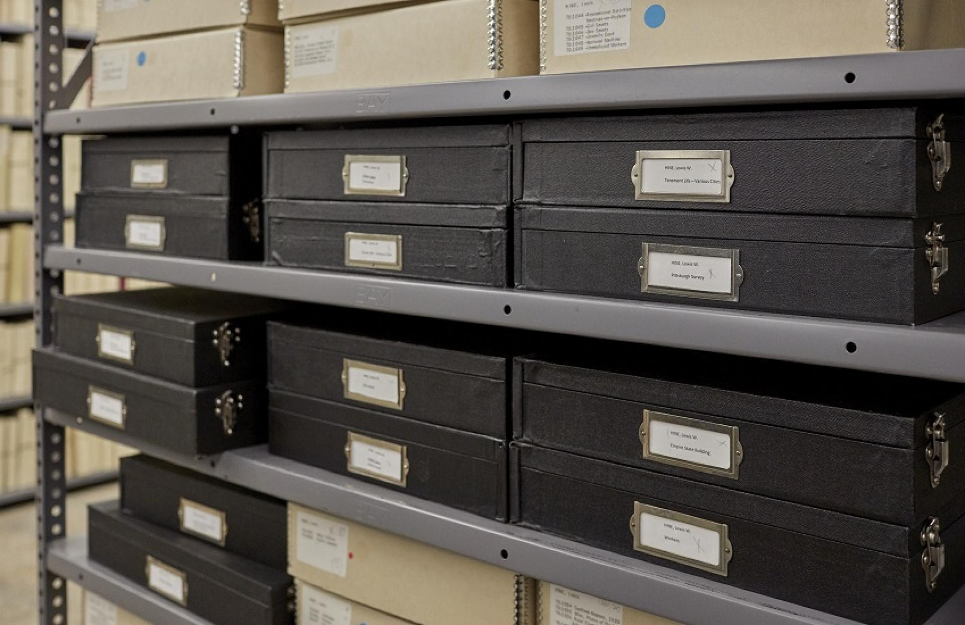 Eastman Museum's photography vault