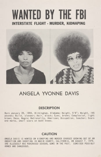 Wanted poster (Angela Davis)