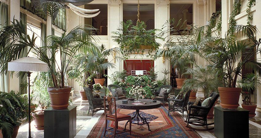 View of the Conservatory in George Eastman's mansion