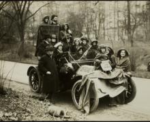 Suffrage hike from New York City to Washington, D.C.