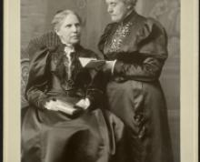 Mary and Susan B. Anthony