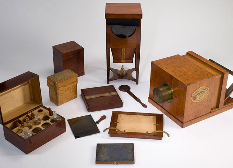 Objects from the technology collection
