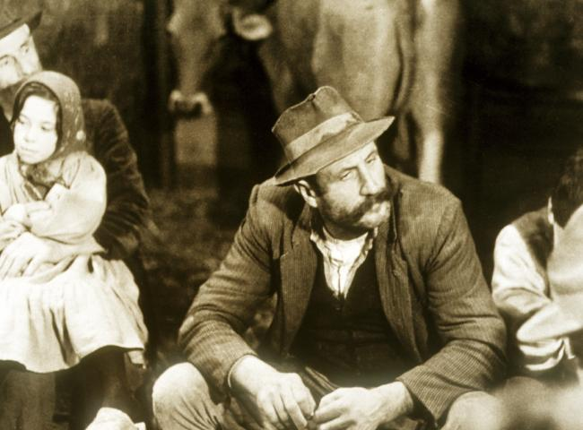 Still from TREE OF WOODEN CLOGS
