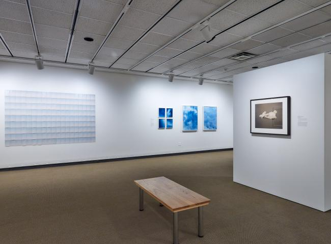 Installation view of gallery