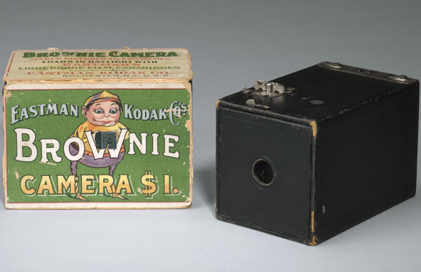 Brownie Camera and Box